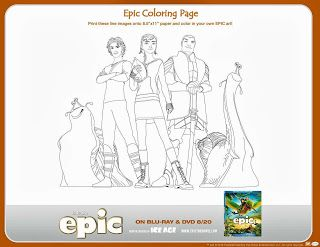 Epic Activity Sheets Mad Libs And Coloring Have An Epicday Fheinsiders Epic Movie Activity Sheets Printable Activities