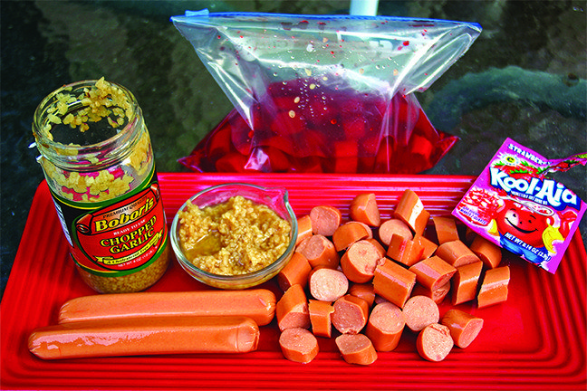 Here's a bait recipe using hot dogs as the base that will drive catfish crazy. 32 Genius Fishing Ha