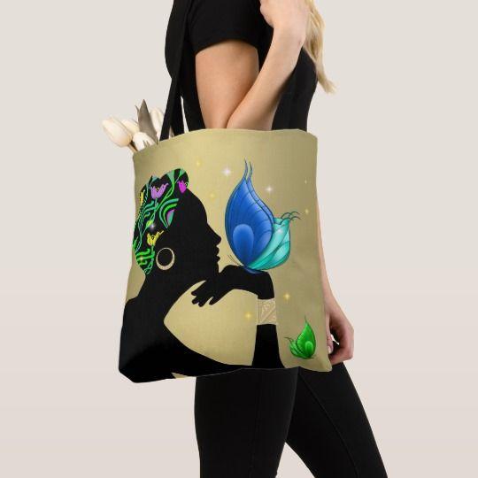Beautiful Ethnic Woman All Over Print Bag