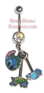 Disney Lilo Stitch Belly Rings Belly Rings Belly Rings Belly