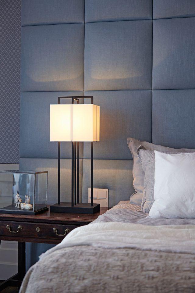 luxe slaapkamer ontwerp met design verlichting slaapkamer
