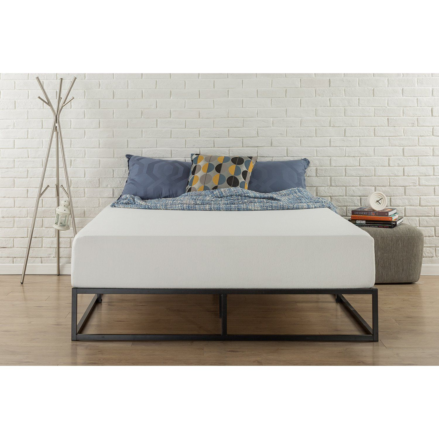 Varick Gallery Reg Fetter Platform Bed With Images King Bed