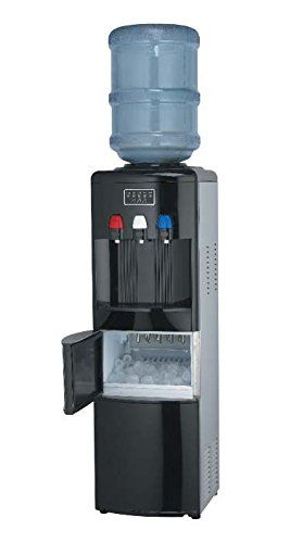 Igloo Water Cooler Dispenser With Ice Maker Stainless Steel