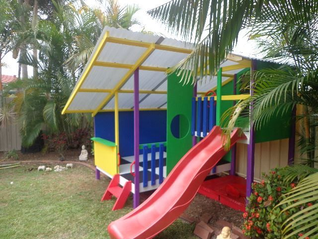 My Cubby Kids Cubby house #Outdoors #play #kids #playhouse #Cubbyhouse #fun