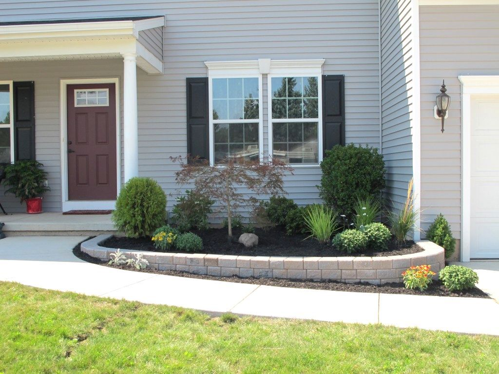 Low Maintenance Landscaping Ideas For Backyard Garden Minimalist Look Of Plants Front Yard Along