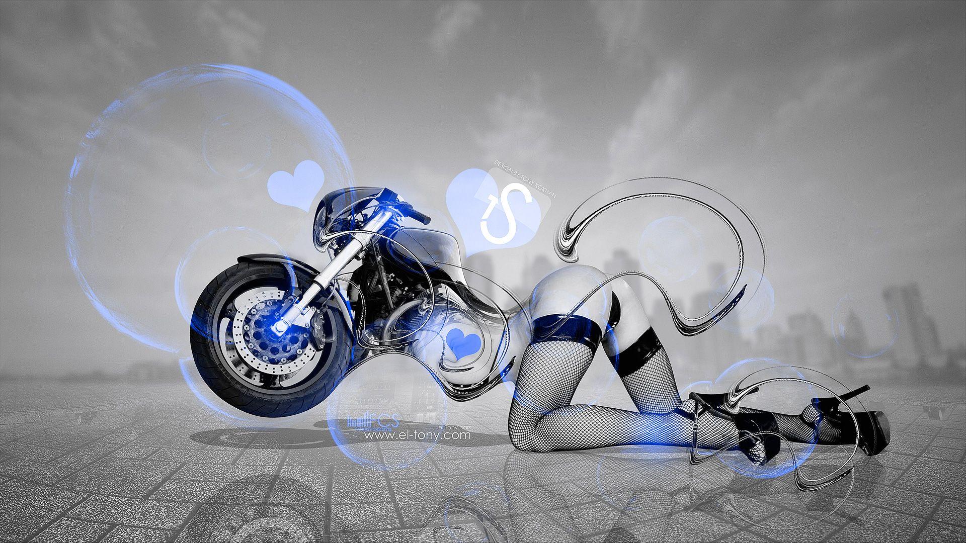 κινουμενες εικονες για επιφανεια εργασιας   Αναζήτηση Google ·  GoogleArtChoppersGirl MotorcycleGreen ...