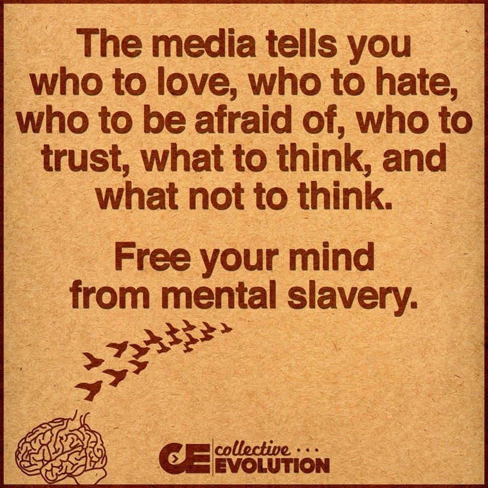 Free Your Mind Quotes Free Your Mind  Quotes And Inspirations  Pinterest  Media Bias