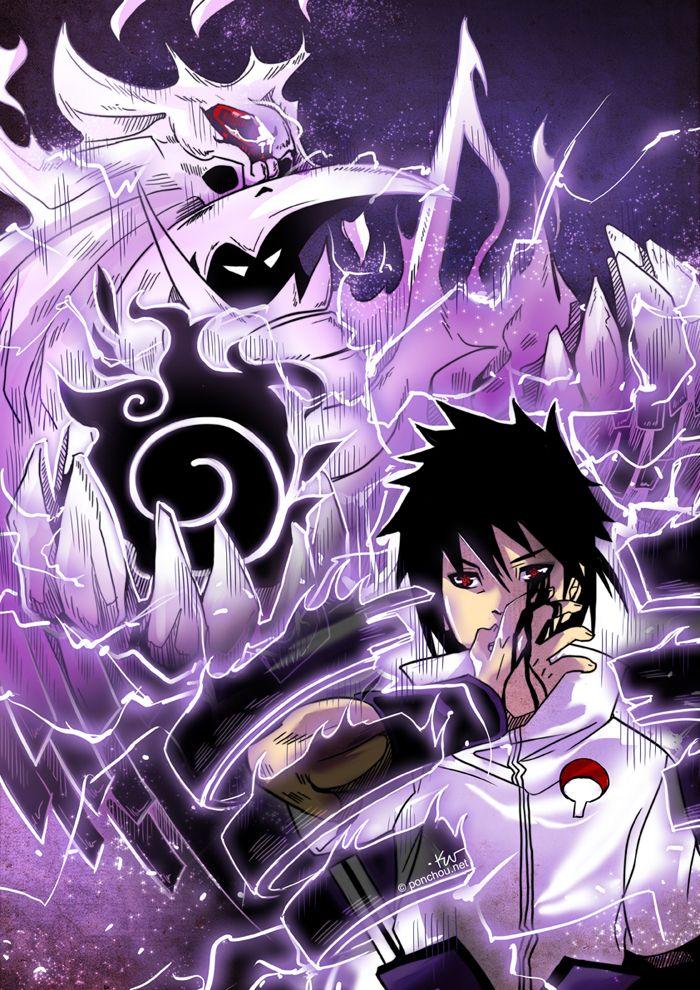 Susanoo By Ponchounette On Deviantart Naruto Shippuden Anime Sasuke Uchiha Shippuden Anime Naruto