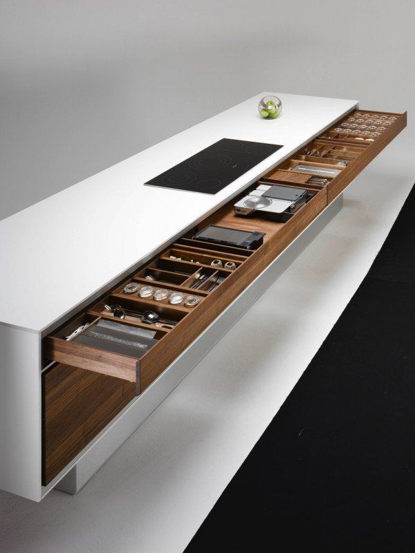 24 bancadas de cozinha bonitas modernas e criativas - Bancadas de cocina ...