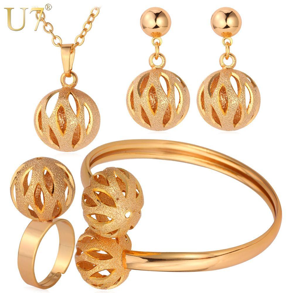 Free shipping buy best u unique design ball pendant set wholesale