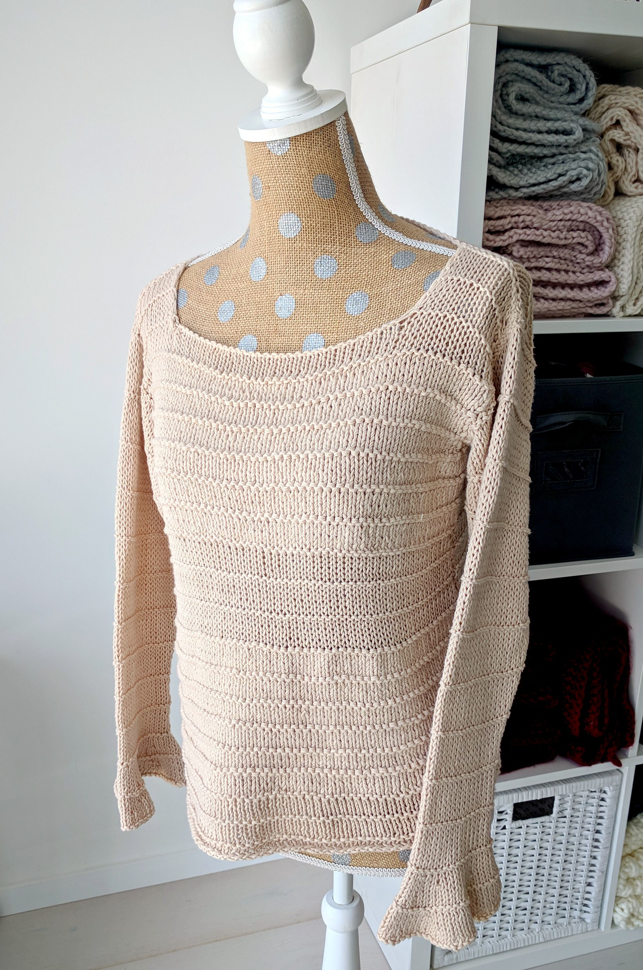 Photo of Rustic Spring Sweater Pattern by Michelle – Hobium Blog