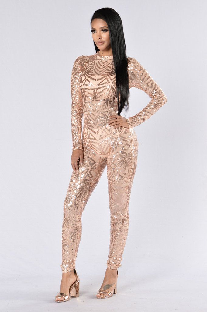 886eb6e7fdb TOO MUCH FOR YOU JUMPSUIT - ROSE GOLD  fashion  style  trend  onlineshop   shoptagr
