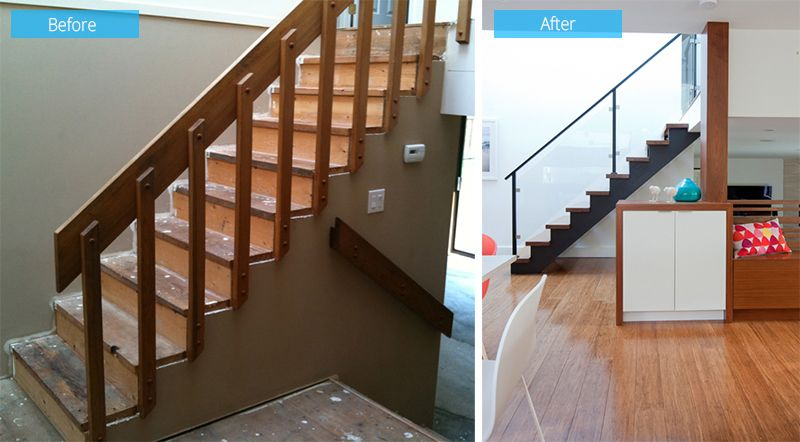 Before and After: 1980's Split-Level House Transformation in Canada