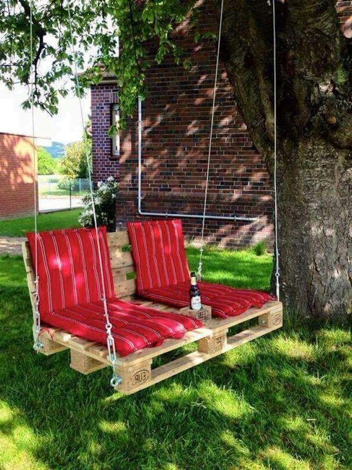 ▷ 50 + tolle Ideen zum Thema Gartenmöbel aus Paletten #gartenideen