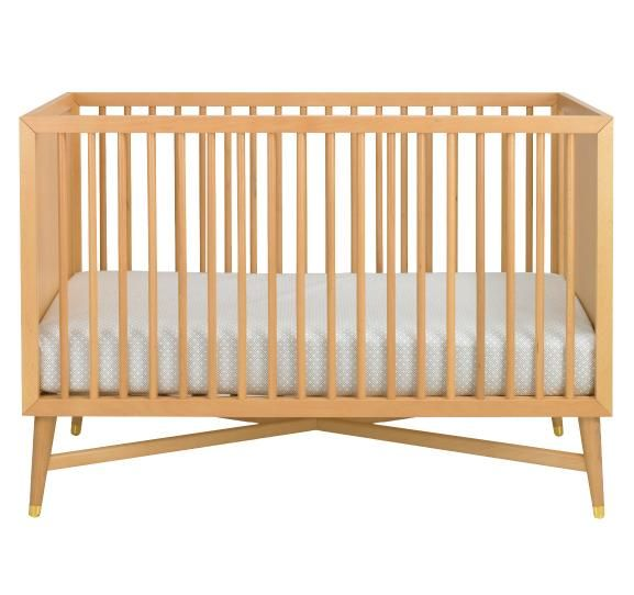 Dwellstudio Century Crib With Images Natural Crib Best Baby Cribs Cribs