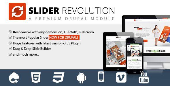 Slider Revolution - Responsive Drupal Module | Code Script