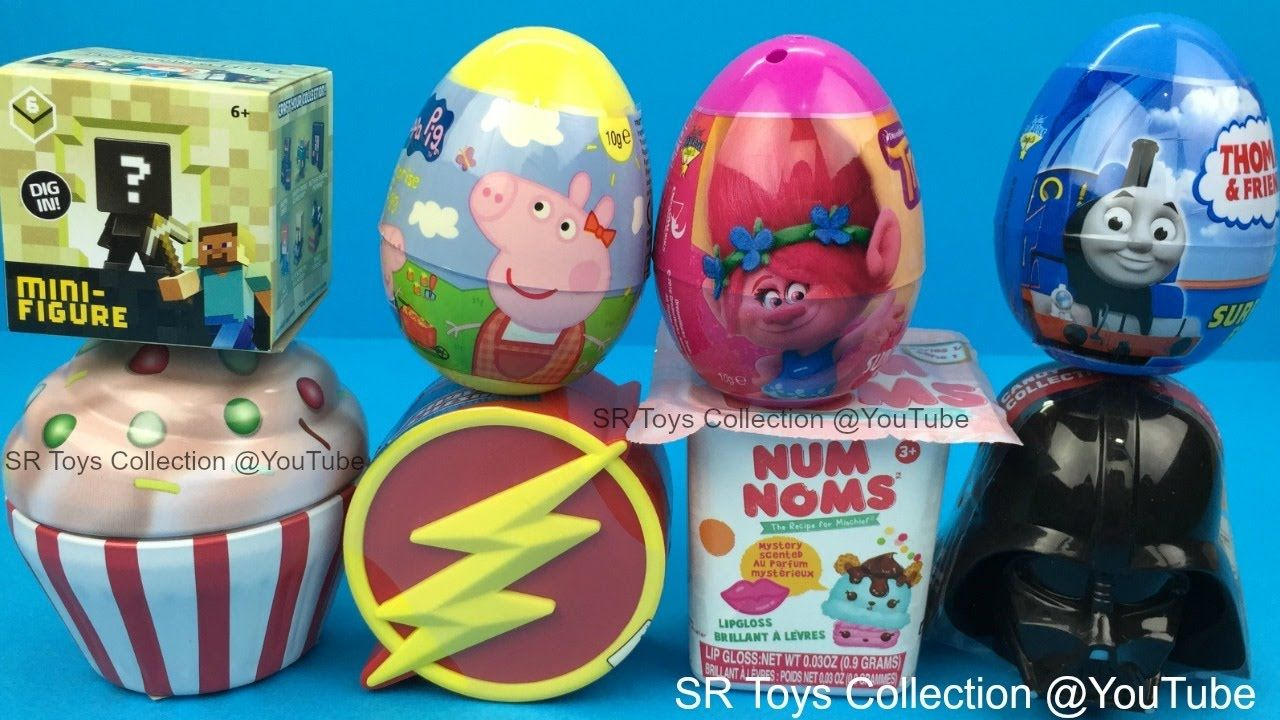Surprise Toys Cupcake Num Noms Thomas Friends Peppa Pig Trolls Justice Thomas And Friends Toys Peppa Pig