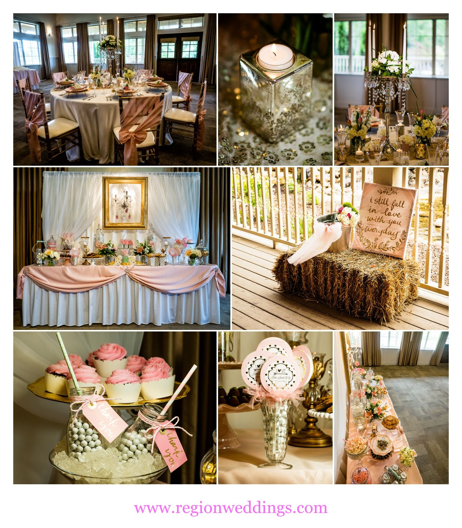 The Farmhouse Fair Oaks Gold Wedding Palette From How Sweet It Is Events At The Farmhouse