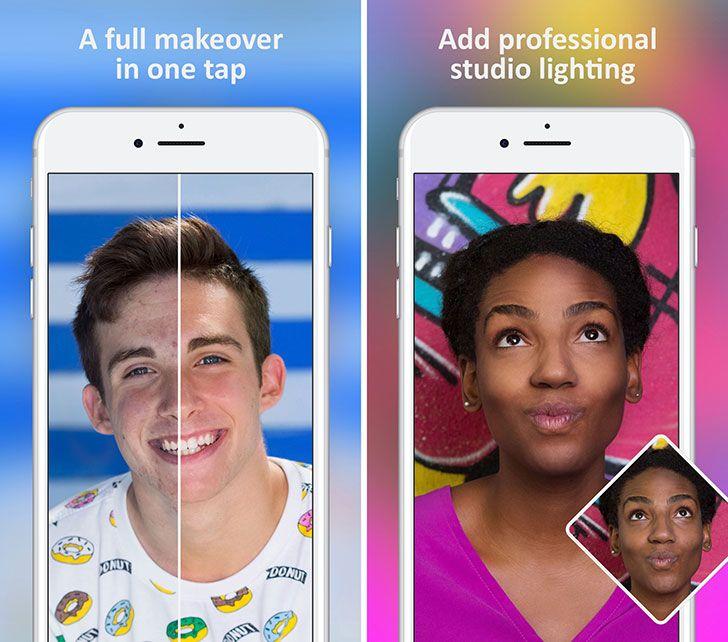 Facetune 2 App Tech news, Studio, Selfie