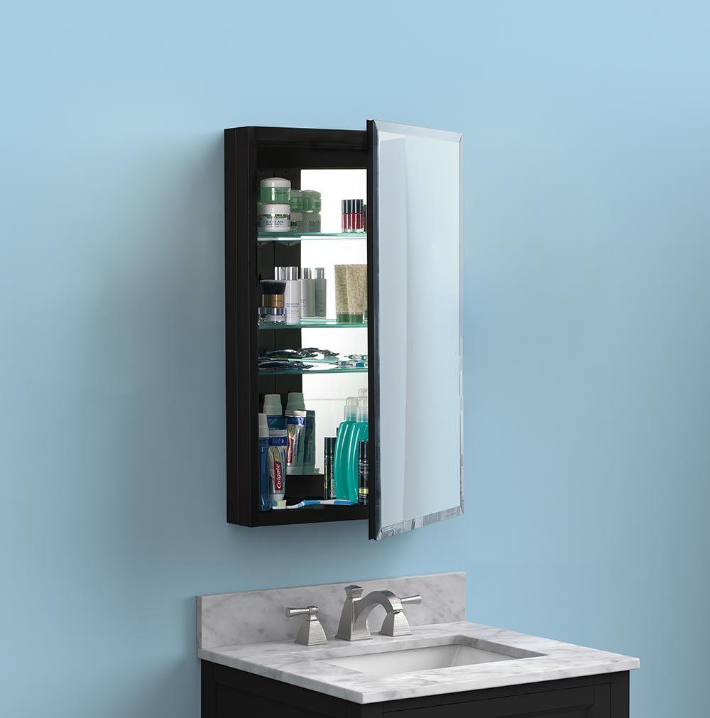 Aluminum Mirrored Medicine Cabinets Glass Shelves In Bathroom Medicine Cabinet Mirror Beveled Mirror