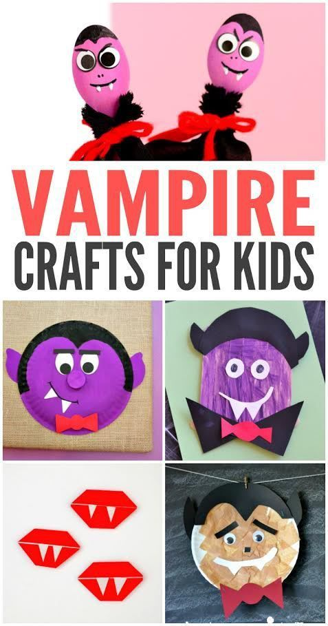 Looking to get your teeth into some fun vampire crafts for kids? Here are some of our favorites!