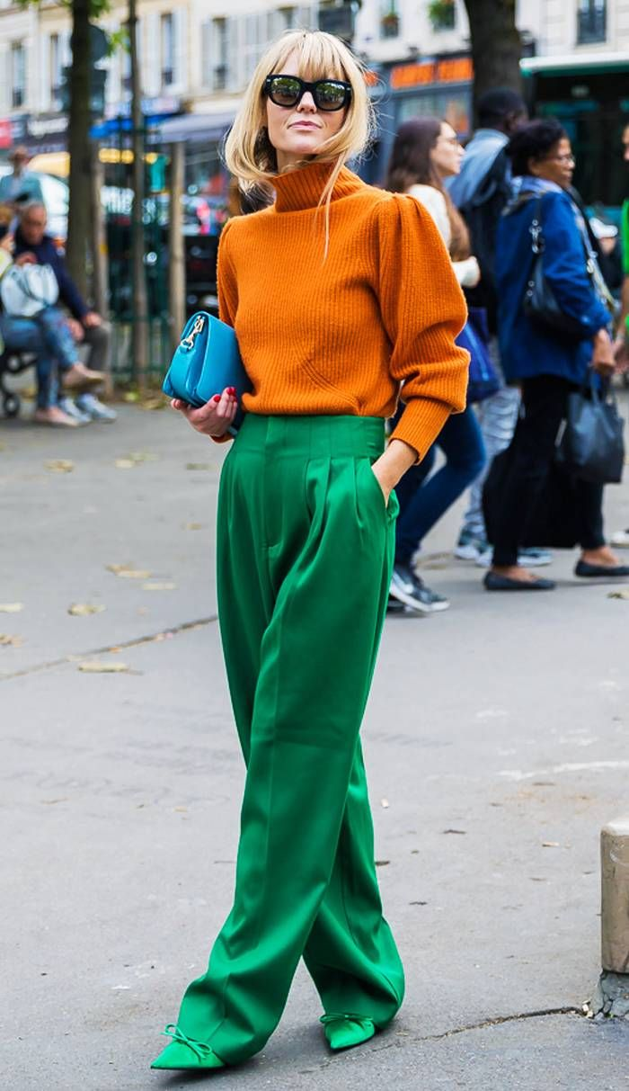 Photo of One Super-Cool Scandi Girl and the 4 Colour Combinations You'll Copy This Year
