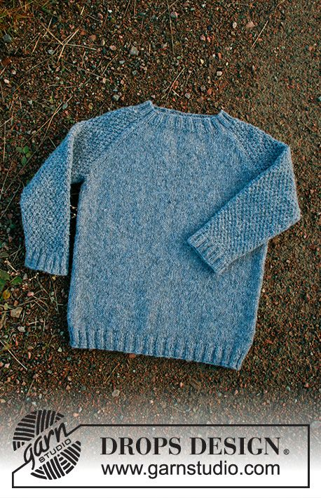 Blue August / DROPS Children 34-17 - Kostenlose Strickanleitungen von DROPS Design