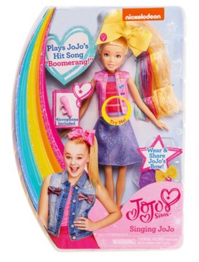 jojo siwa singing doll hot toys for christmas 2017