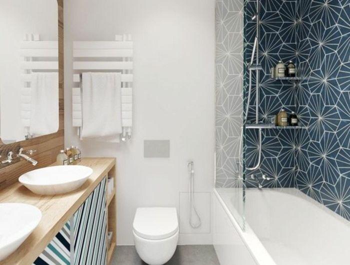 Mille idées d\'aménagement salle de bain en photos | Bathroom tiling