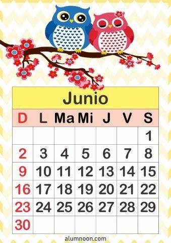 Calendario De Búhos 2019 Alumno On Calendario Para Imprimir Calendario Para Imprimir Gratis Calendario Preescolar
