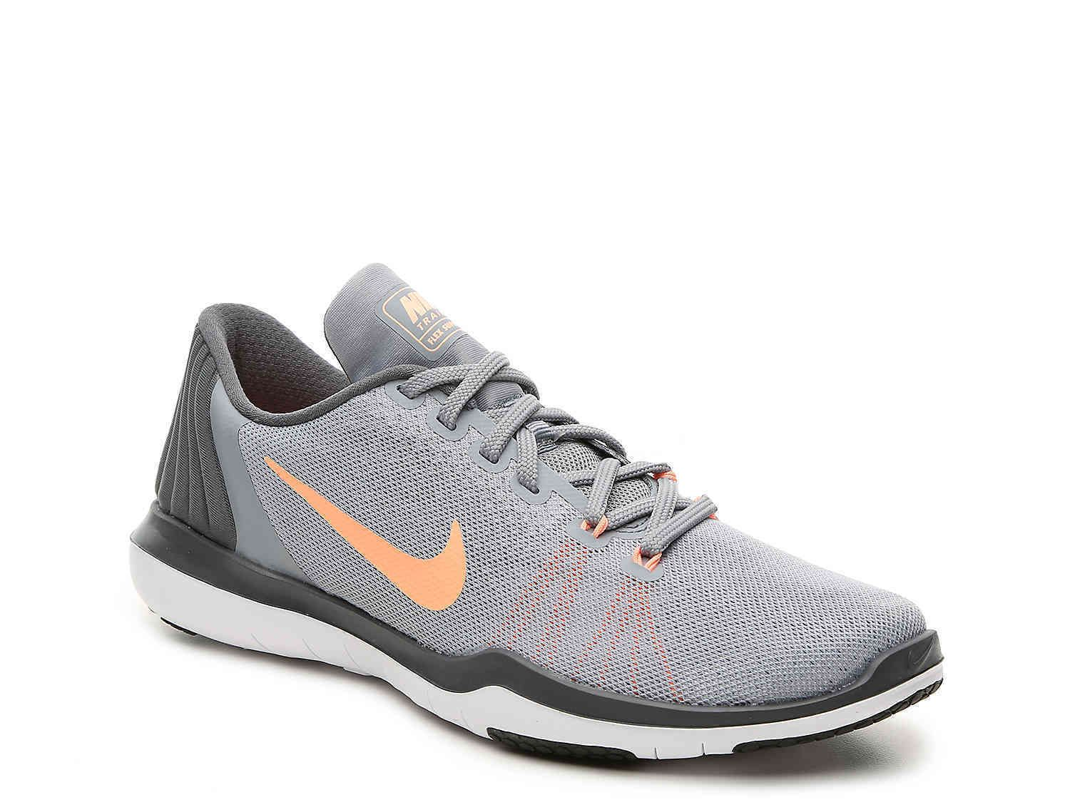 Athletic 95672: Nike Flex Supreme 004 Tr 5 Mujer Gris 004 Supreme Lace Up 8ee5cb