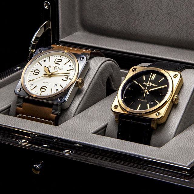 Br 03 92 Steel Rose Gold With Br S Pink Gold In Their Case A Nice Combo For Sure Richard Mille Watches Timeless Watches Bell Ross