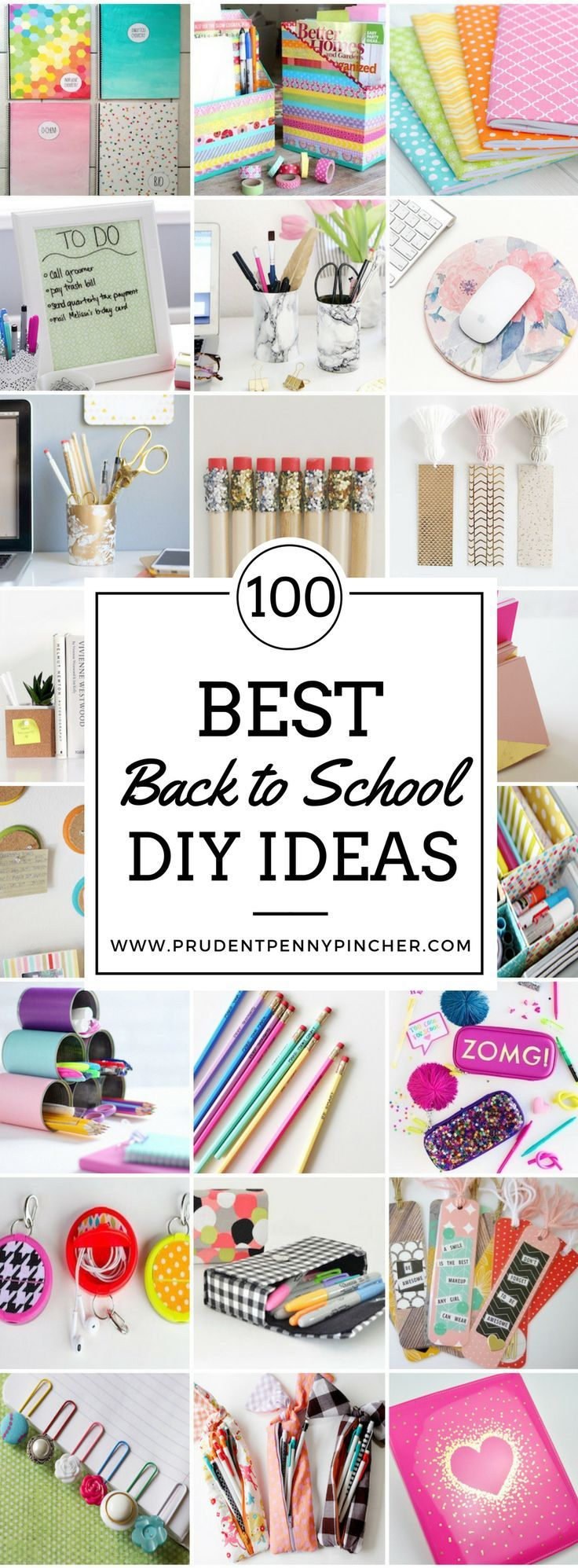 100 best back to school diy ideas back to school pinterest scolaire fourniture scolaire. Black Bedroom Furniture Sets. Home Design Ideas