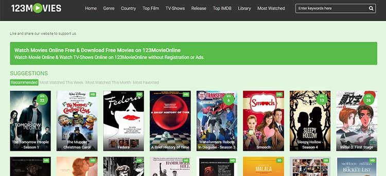 8 Best Sites Like 123movies To Watch Movies And Tv Series Online Movies To Watch Best Movie Sites In And Out Movie