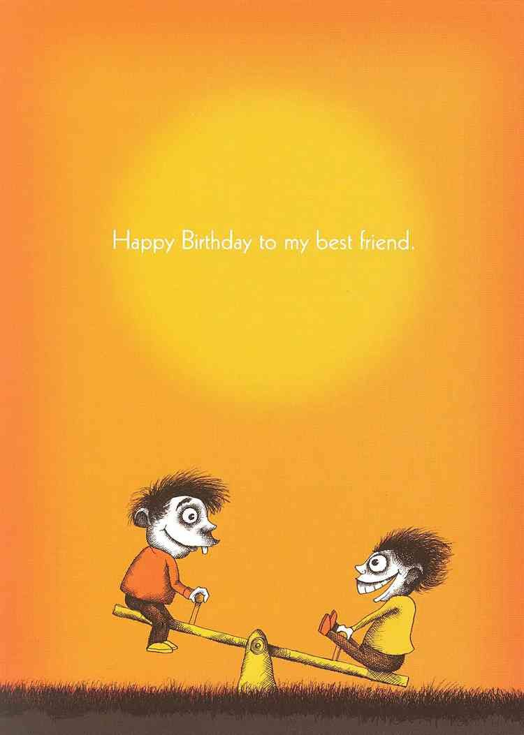 Happy Birthday Cards For Guy Friend Bald Greetings Quotes Funny
