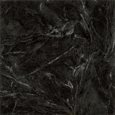 Trafficmaster Black Marble 12 In X 12 In Peel And Stick Vinyl Tile 30 Sq Ft Case 26321061 Black Marble Vinyl Tile Flooring Peel And Stick Vinyl