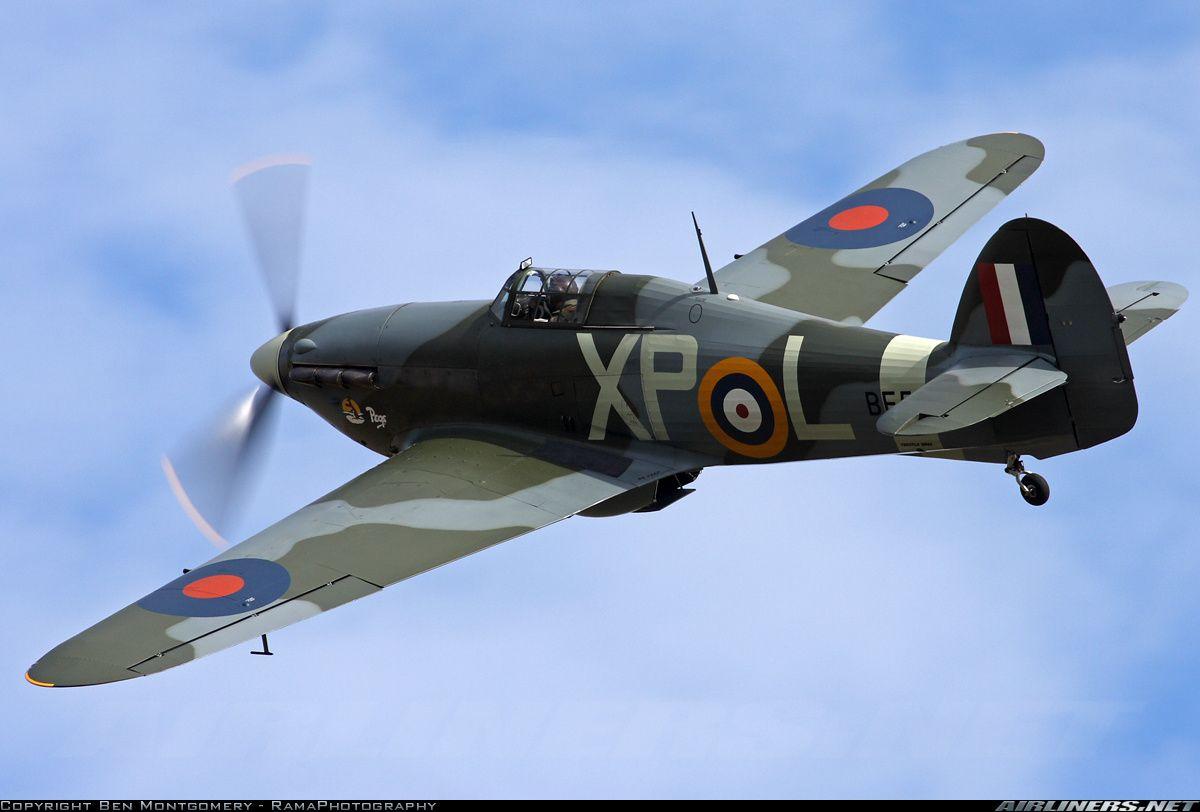 Airworthy Hawker Hurricane Warbird As Raf Xpl Be505 02 Hawker Hurricane Hawker Warbirds