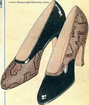 Regent Opera Pump 1929 | Vintage Fashion | Pinterest | Fashion ...