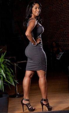 Image result for black woman hot dress