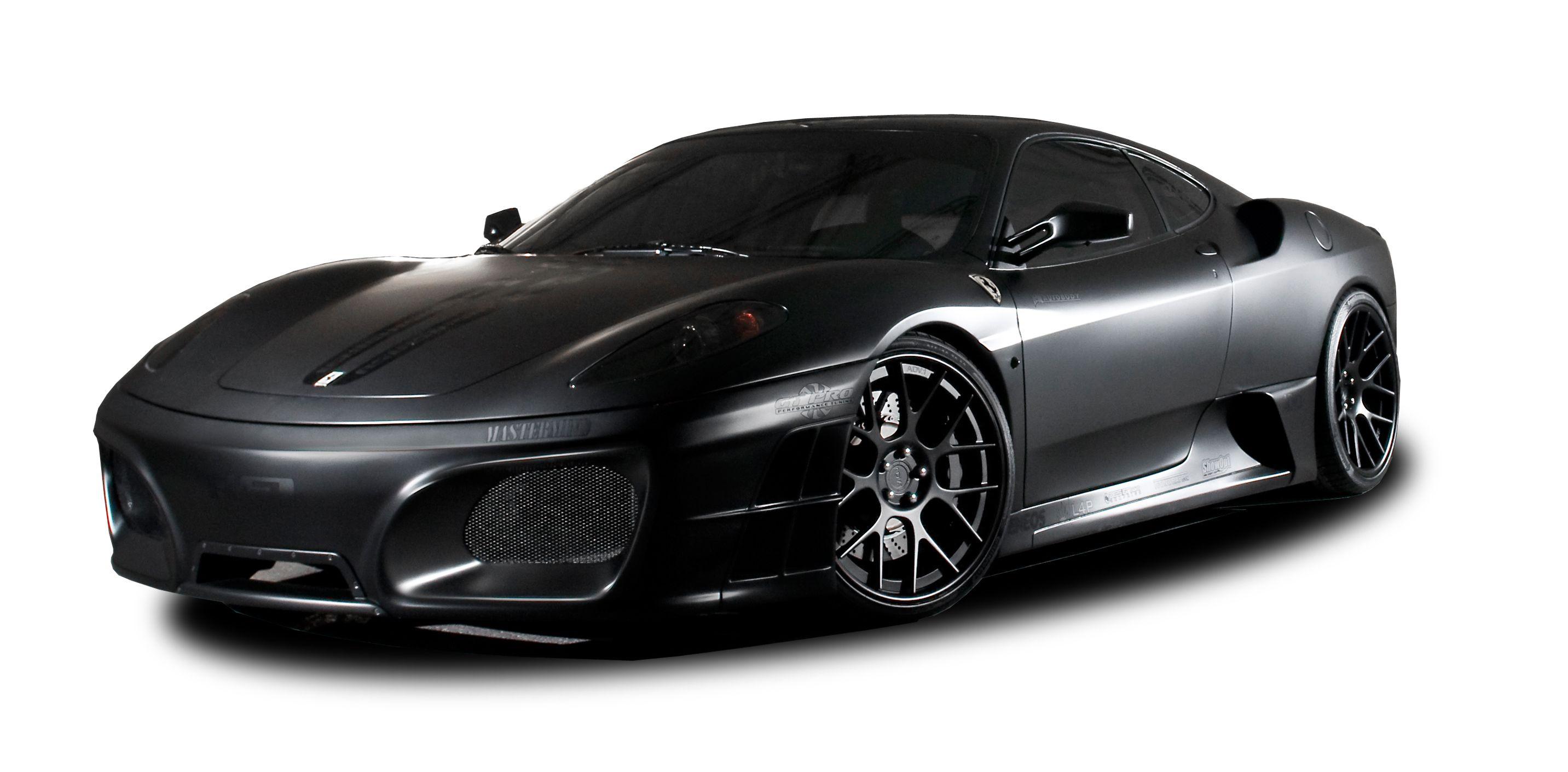 Matte Black Ferrari Black Car Matte Cars Car Paint Colors