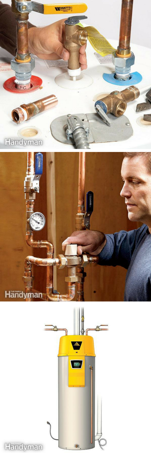 Pin By Family Handyman On Simple Repairs Water Heating