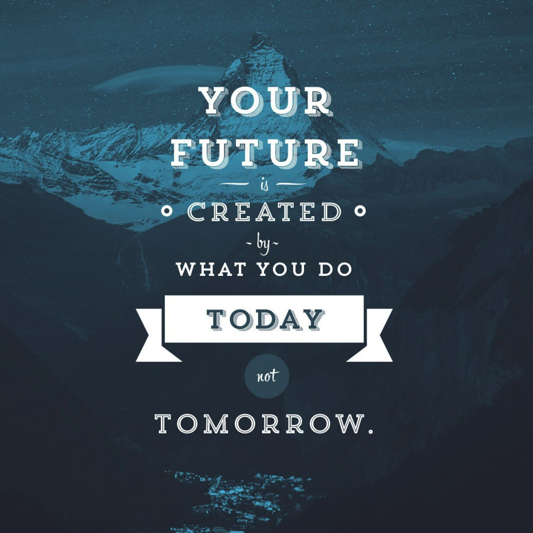 Future Quote iPad Wallpaper HD.jpg 2,048×2,048 pixels