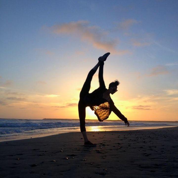 sunset shadows #dance #dancer #sunset