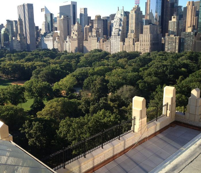 Central Park Apartments New York: Grand Duplex Penthouse With Two