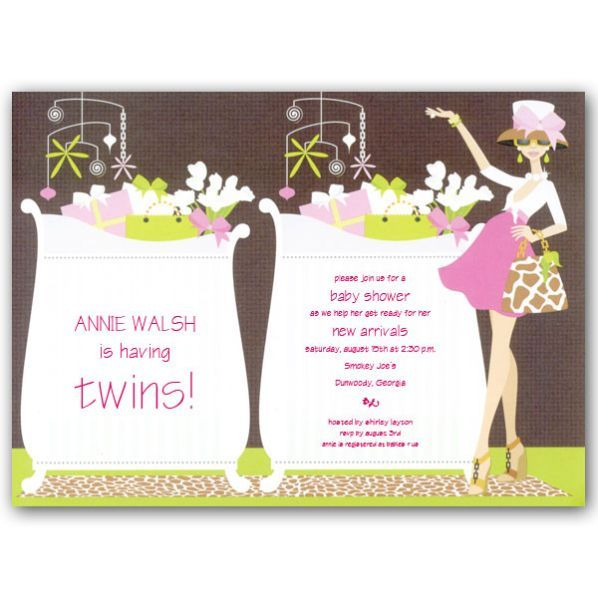 baby shower invitations for twin girls We apologize this item is