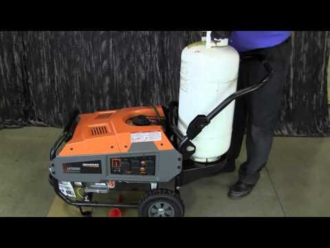 Generac Lp Portable Generator With Images Portable Generator