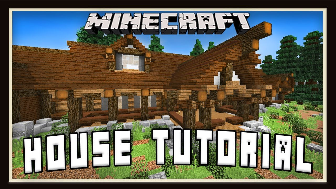 Minecraft Tutorial How To Build A House Roof Design Part 3 House Roof Design Roof Design House Roof