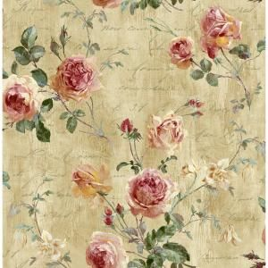 Seabrook Designs Charleston Floral Paper Strippable Roll (Covers 56 sq. ft.)-CT40007 - The Home Depot
