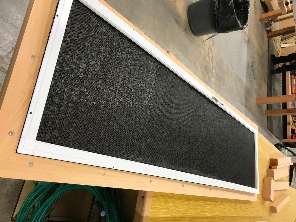 Recirculating Air Spray Booth Custom built homes, Veneer