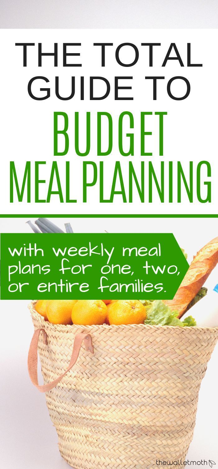 A Total Guide To BudgetFriendly Meal Planning Budget